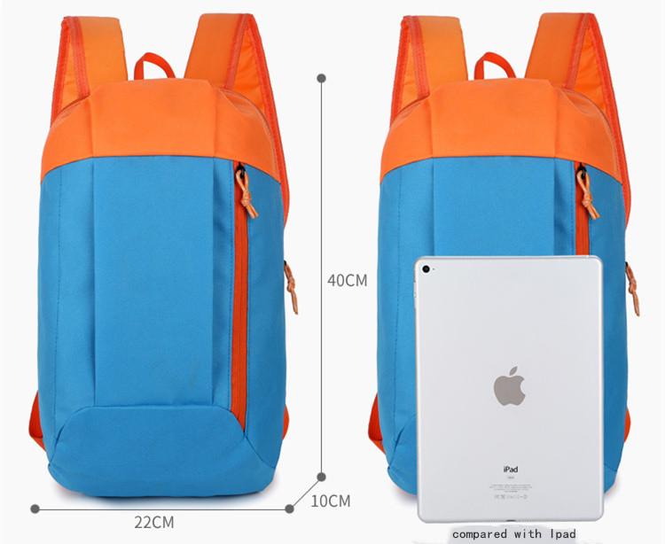 Boys Girls Factory Wholesale Cheap School Camping Backpack Bag Custom Logo Printing Travel Promotion Back Pack 600d Bag