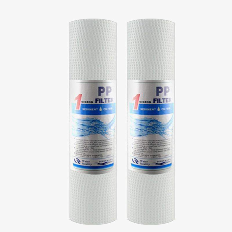 מכירה לוהטת מקצועי נמוך מחיר pp כותנה מים מסנן מחסנית