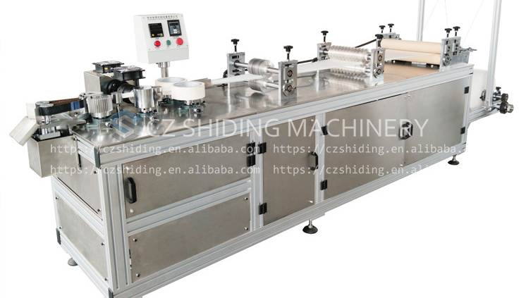 Shiding Superior Quality Ultrasonic Disposable Nonwoven Bouffant Cap Making Machine