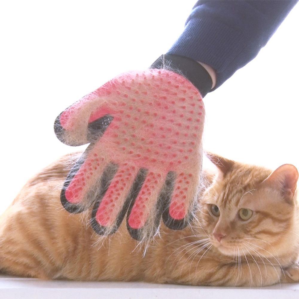 1 Pcs पालतू सौंदर्य दस्ताने बिल्ली कुत्ते मालिश बालों को हटाने दस्ताने सफाई ब्रश जादू कंघी पालतू जानवर सौंदर्य मालिश स्नान ब्रश क्लीनर