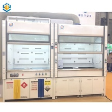WUY laboratory used benchtop fume hood with blower filter controller