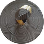 Door and window accessories Gray D-type seal rubber strip in China manufacturer