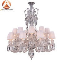 Baccarat Style Crystal Luster Chandelier