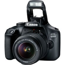 Canon Eos 4000D Dslr <span class=keywords><strong>Camera</strong></span> Met EF-S 18-55 Mm F3.5-5.6 Iii Lens (Canon Eos Rebel T100)