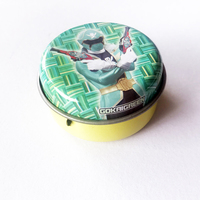 air tight custom logo printing cute small metal tin boxes