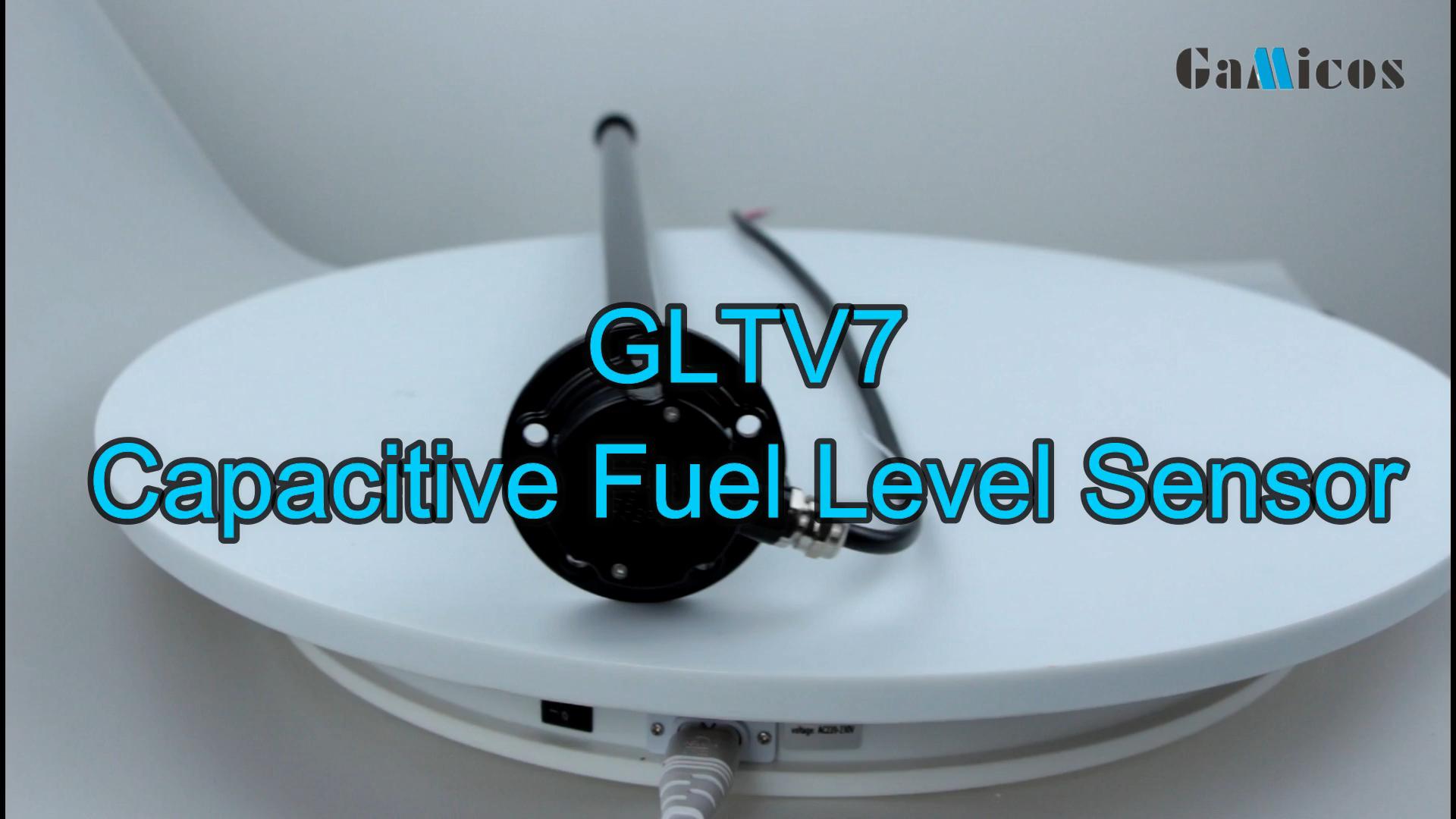 GLTV7 RS485 Digital cuttable capacitance fuel level Sensor