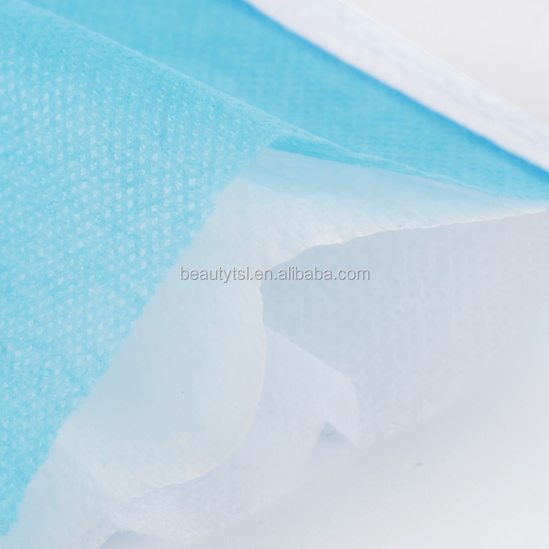 face mask 05 3Layers Dustproof Disposable Personal Protective Face Mask with Earloop Non Woven In Stock
