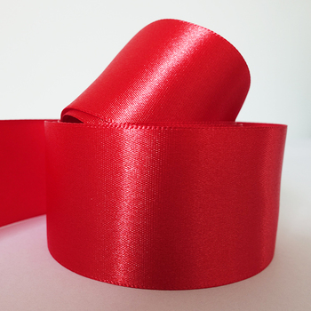 Wholesale Luxury Silk Red Gift Packaging Decoration Ribbon