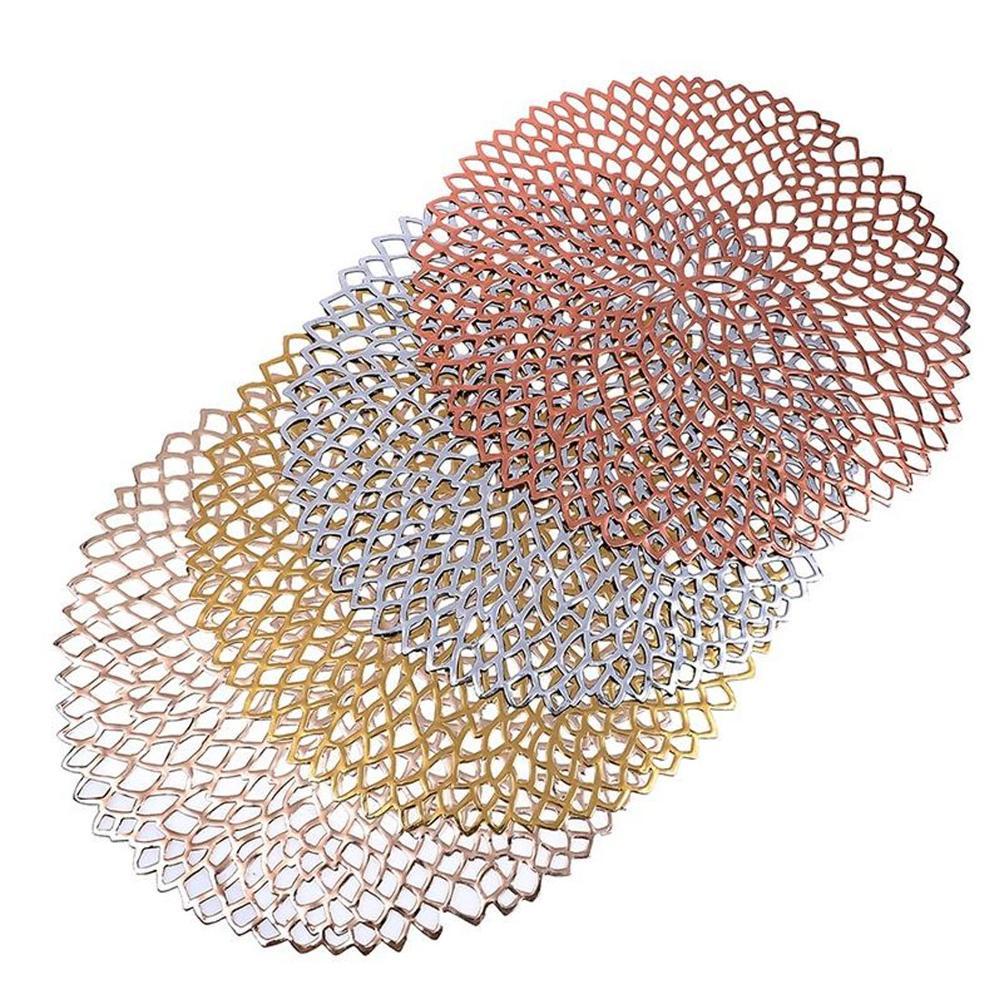 Offre Spéciale imperméable 38cm PVC table creuse tapis de table