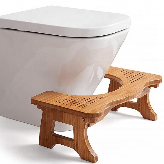 परिष्कृत-बेम छोटे से बाथरूम तह बांस शौचालय मल