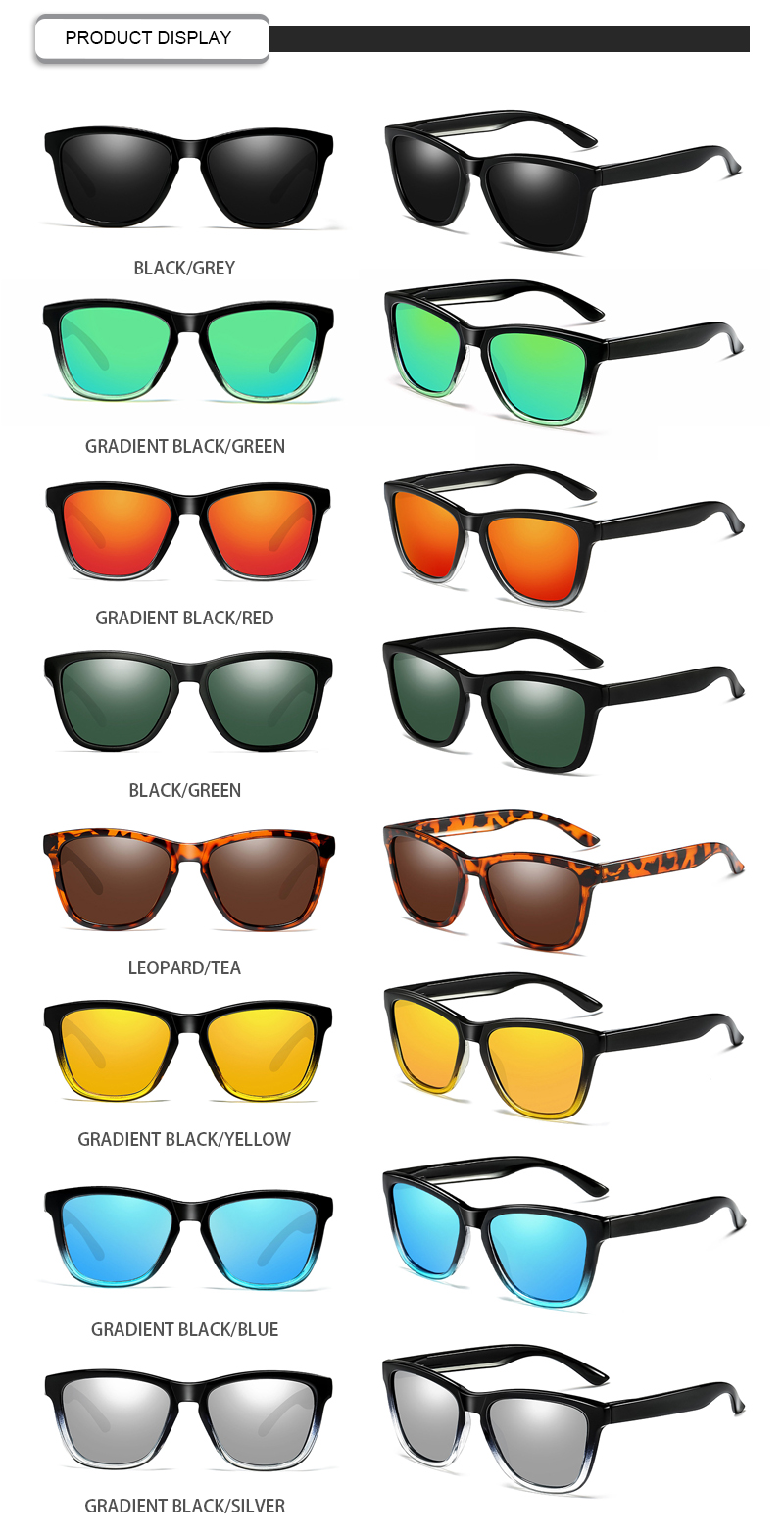 Fuqian neon sunglasses manufacturers for driving-13