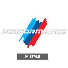 Алиавто стикер автомобиля М производительность автомобиля заднего окна наклейка Аксессуары для Volkswagen Golf 7 BMW E90 E92 E46 E60 F30 F10 F07 F34(Китай)