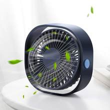 Портативный охлаждающий настольный USB вентилятор SMARTDEVIL, 3 скорости, персональный, с поворотом на 360 градусов, регулируемый угол, для офиса, до...(China)