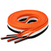 120cm orange white black
