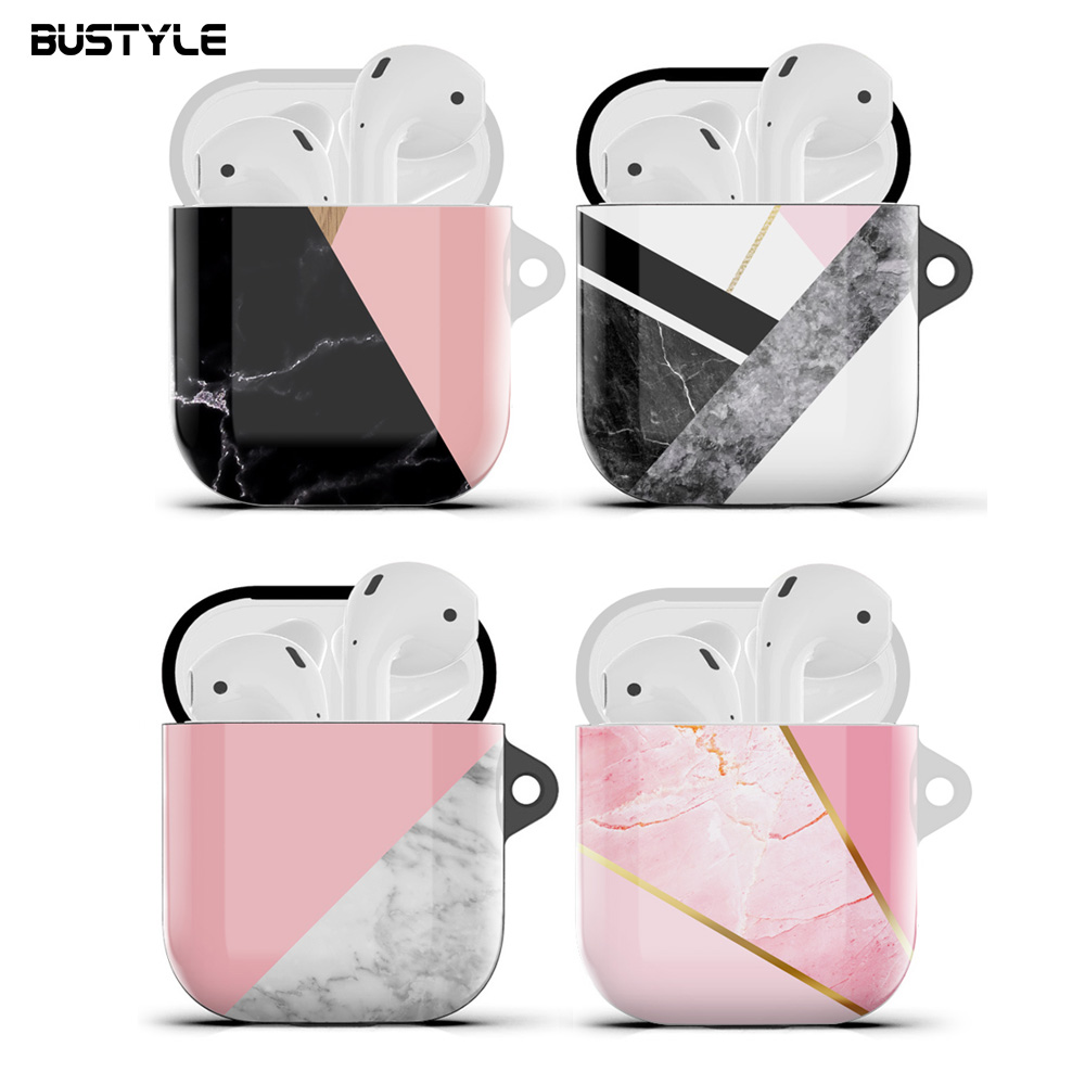 For Airpod Accessories For Airpods Case Cover Hybrid Color Separate Slim Silicone Soft Anti Shock Earphone Phone Case For iPhone