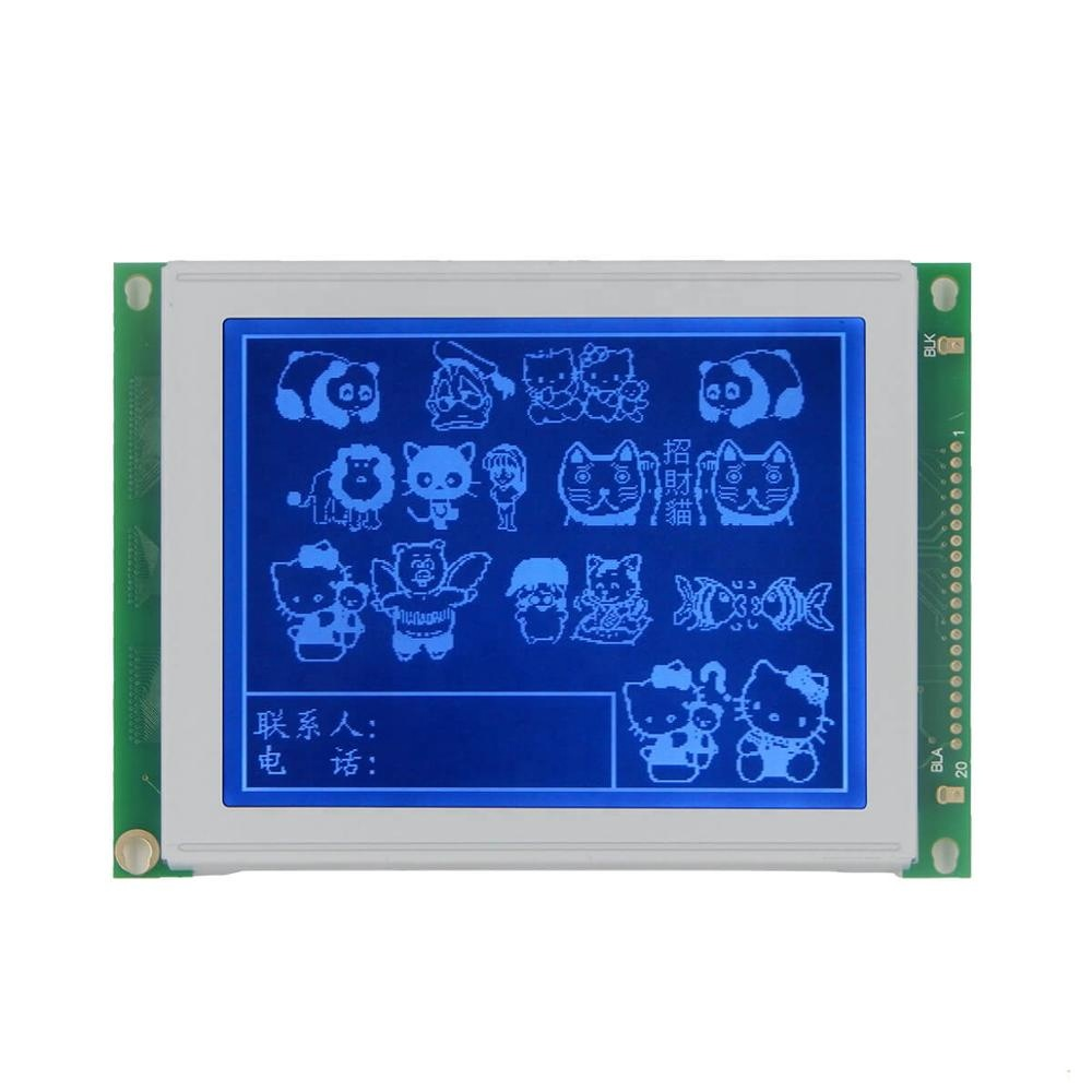 Industrial 5 inch Custom lcd standard screen 320x240 graphic module LED/CCFL RA8835 STN lcd display