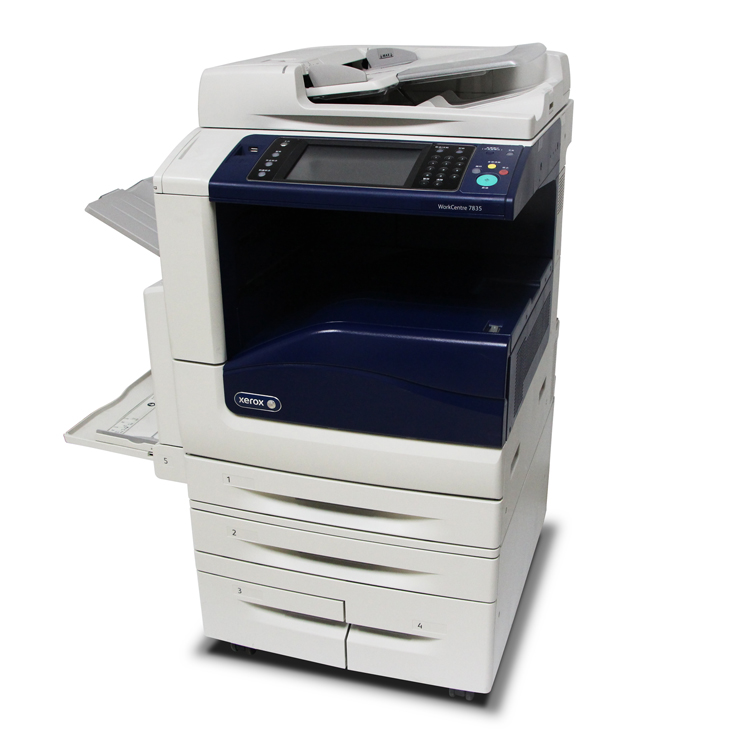 Photocopieurs d'occasion couleur seconde main photocopieuse pour Xerox 7835