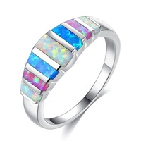 INFANTA JEWELRY Amazon Wish Hot Sale Multi Color Rainbow Cute Girl Women Alloy Colorful Ring For Wholesale Size 5-12 ring sets