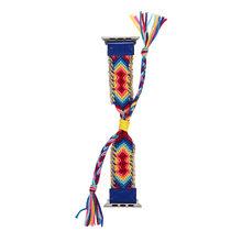 Текстильный плетёный канат ремешок для наручных часов Apple Watch, версии 5 4 2 40/44 мм, 38 мм/42 мм нейлон Регулируемый браслет, ремешок для наручных ч...(Китай)