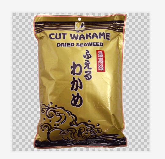 Japanese Roasted Dried Seaweed Wakame