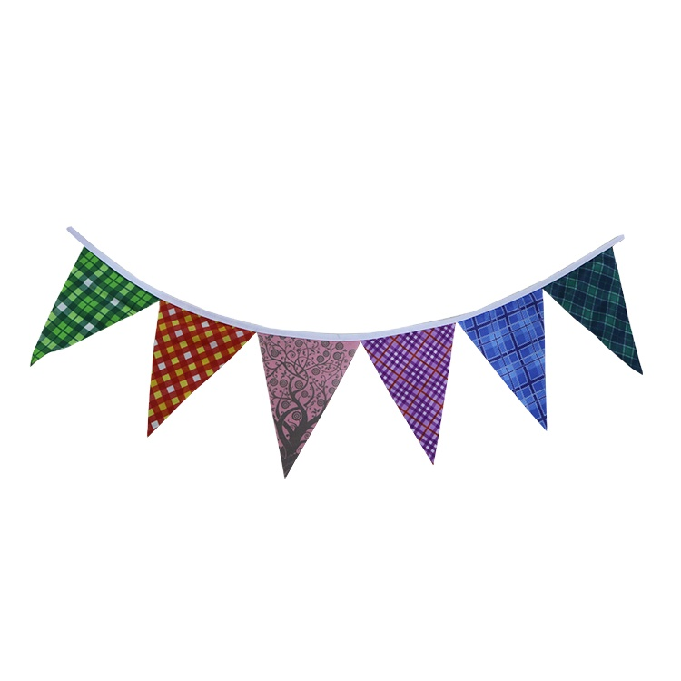 Happy Birthday Bunting Flag For Party Arrangement Hanging-Above Holiday Vibe Work Stuff