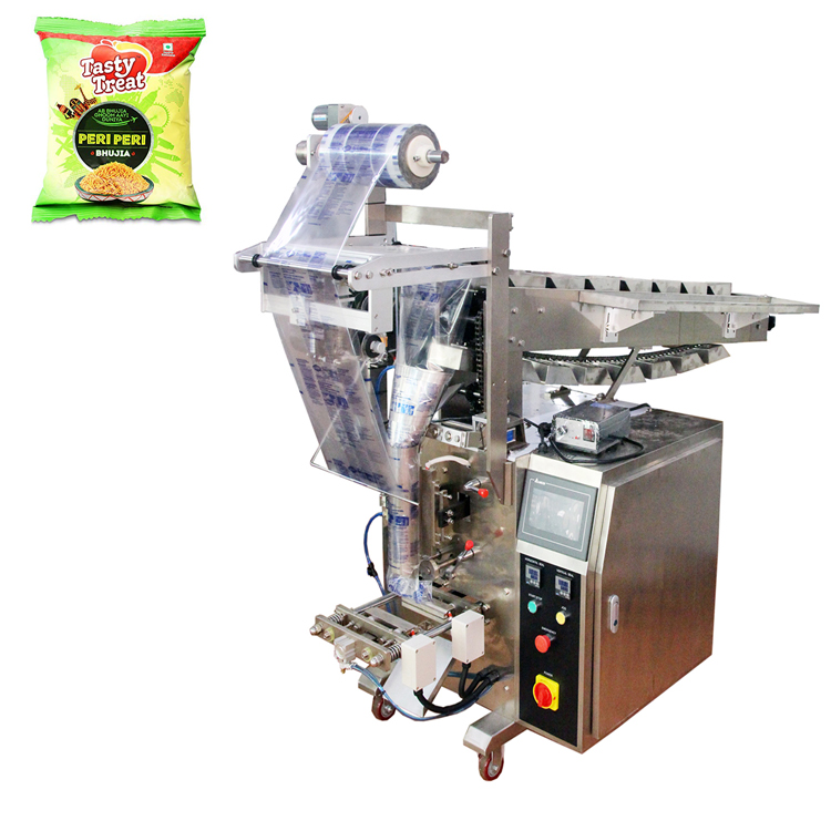 Automatic <strong>Machines</strong> <strong>Sachet</strong> Chanachur Chips Snack <strong>Packing</strong> <strong>Machine</strong>