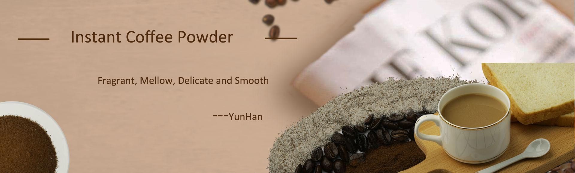OEM de Dreid precio puro orgánico instantáneo café negro en polvo a granel