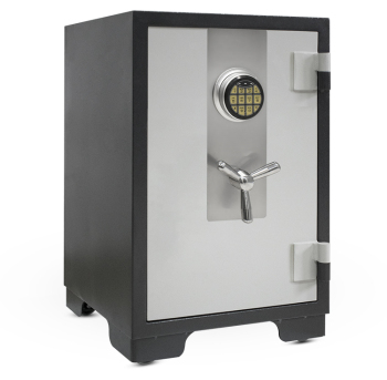 1 Hour Fire Rating Fireproof Heavy Duty Digital Key Lock Safe