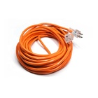 16/3 orange us type waterproof electric extension cord with 50ft 3 prong usa lighted end socket