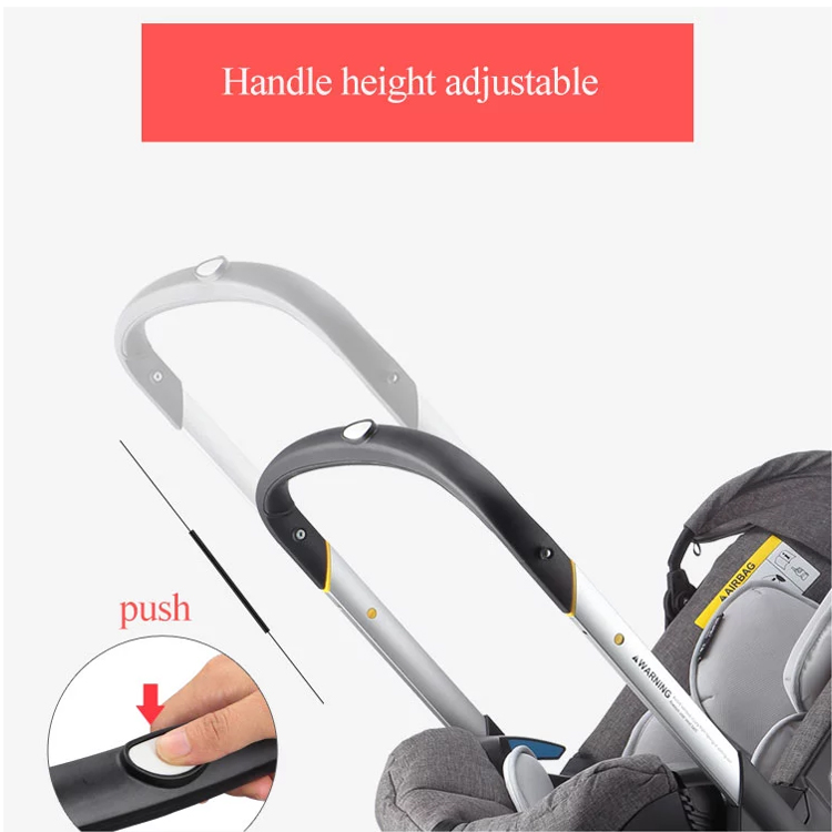 Lightweight Multifunction 4 In 1 baby stroller Portable 4 in 1 baby stroller child safety car seat stroller