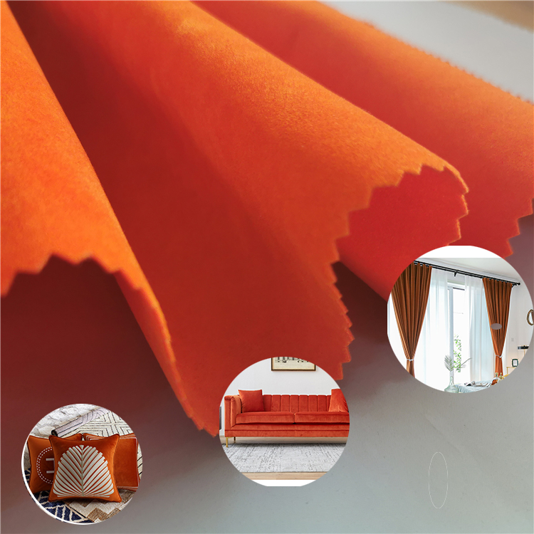 Manufacturing Companies Material Upholstery Foaming Shoes Suede Fringe Twill Fabric Single Drill Polyester Lining For Bags