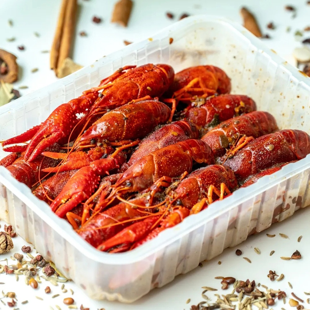 Ready to Eat After Thawing Seasoned Spicy And Hot Crayfish