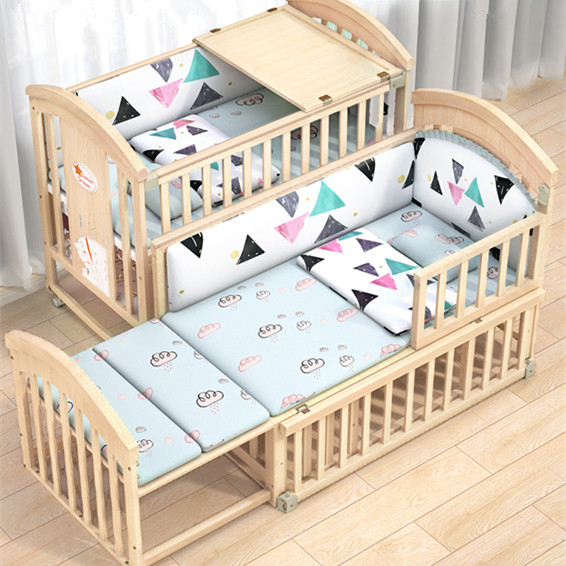 Nursery Furniture Sets Solid Wooden Baby Crib Manufacturers /cheap