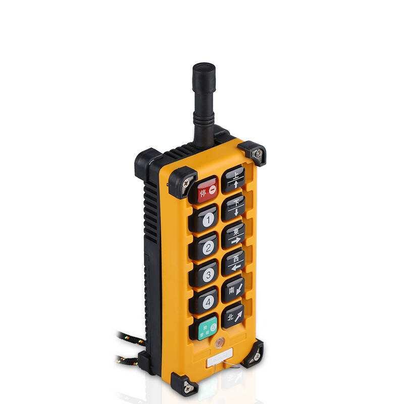 ワイヤレス工業用リモートコントロール F24-10D 36v 交流電動機クレーンリモートコントロール