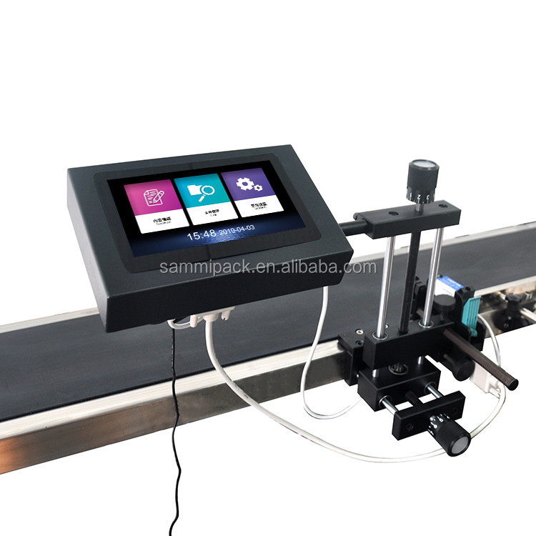 OH-188 inkjet printer with conveyor with humanized operation of the english interface