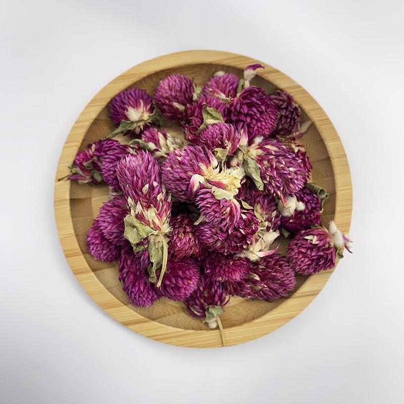 0190 Wholesale all year round hot selling natural and healthy Globe amaranth Flower tea in bulk bags - 4uTea | 4uTea.com