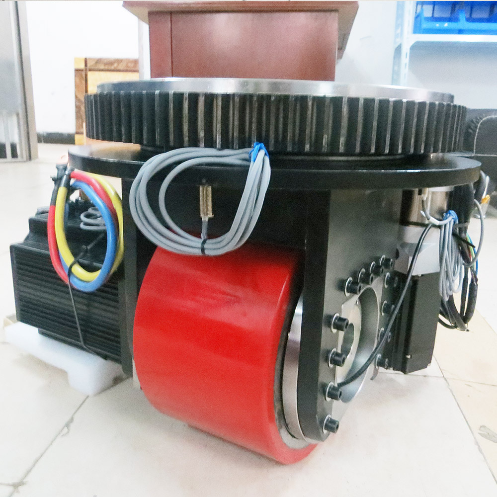Extra heavy duty load Automated Guided Vehicles Steering Wheel for making unmanned fork lift truck and flat car Drive AGV