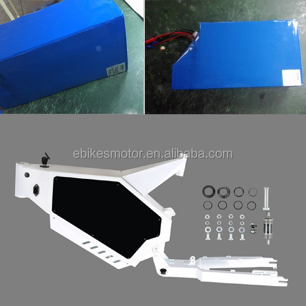 Factory wholesale DIY bike frame aluminum/Stealth bomber electric bicycle frame for 3000w 5000w 8000w