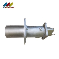 High pressure cast iron stainless steel natural gas tube burner industrial for boiler