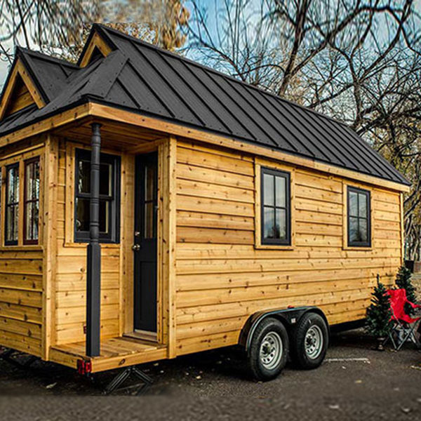 Australian small modular guest house tiny house travel trailer prefab tiny home on wheels prefabricated wooden house