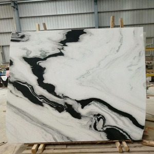 China book matched panda white marble for hotel and home decorarion/kitchen countertop/table top/stiars