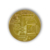 Gold Plated Collectible Art Collection Gift Metal Antique Bitcoin Coin