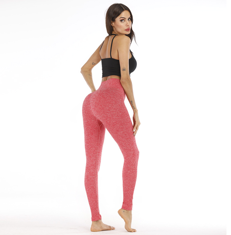 Vendita calda Amazon Allenamento di Yoga Leggings Per Le Donne