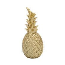 Фигурка в форме ананаса, золото, черный, ананас, ремесла, миниатюры, подарок для офиса, украшение дома, ананас(Китай)