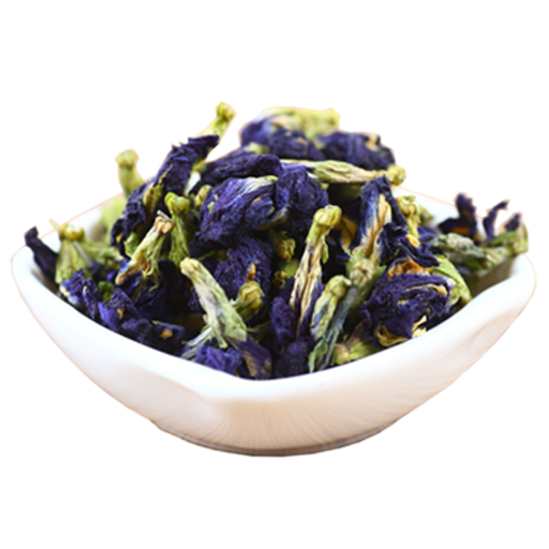 Chinese Medicine Organic Dried Blue Butterfly Pea Flower Herbal Tea - 4uTea | 4uTea.com