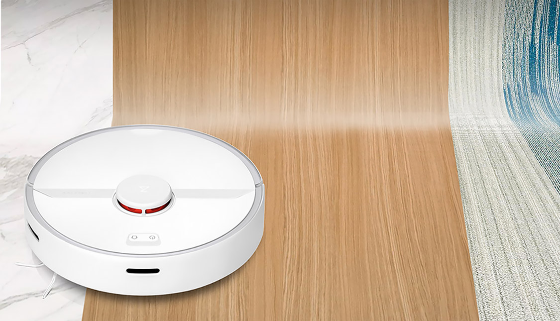 Xiaomi Roborock S6 PURE Robot Vacuum Cleaner smart Multi-Floor Mapping Lidar Navigation Selective Room Cleaning Mop