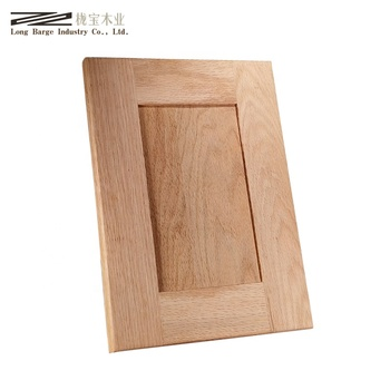 American Red Oak Flat Panel Shaker Kitchen Cabinet Door