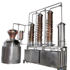 2500L Copper Alcohol Distiller Equipment Stills /Reflux Column and Gin Basket