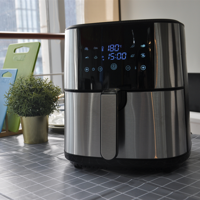 8L Capacity 1800W Digital Electric Air Fryer without Oil