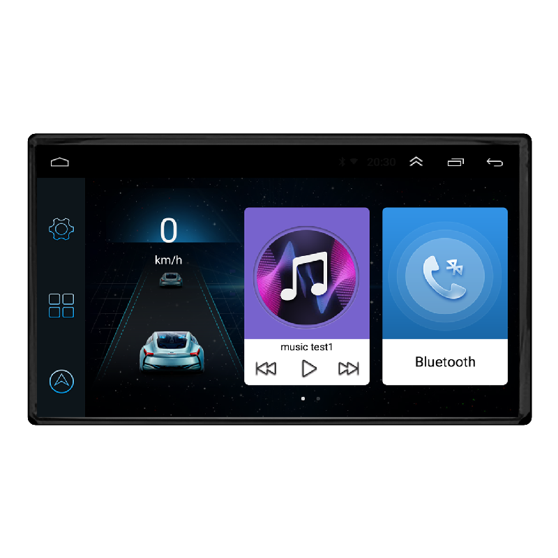Universal Auto Android GPS Navigation, AM FM RDS Stereo Multimedia Audio DVD Player mit Bluetooth Wifi Auto Radio Auto Kamera